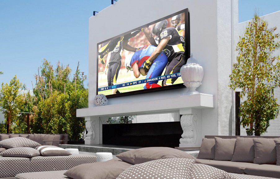 The Big Game Is a Big Deal With Your Outdoor AV System